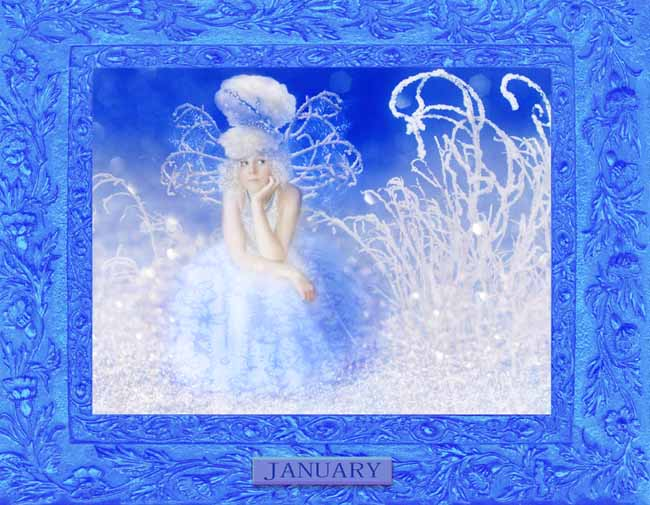 A Peek At Faeries CALENDAR_January