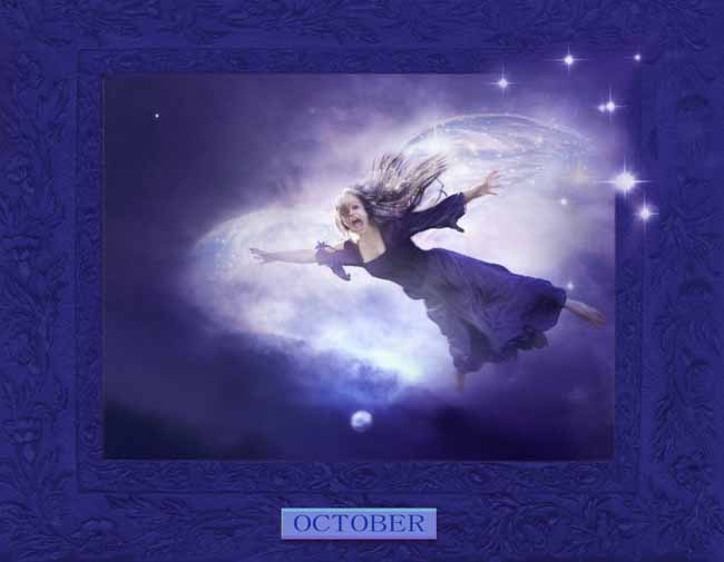 A Peek At Faeries CALENDAR_October