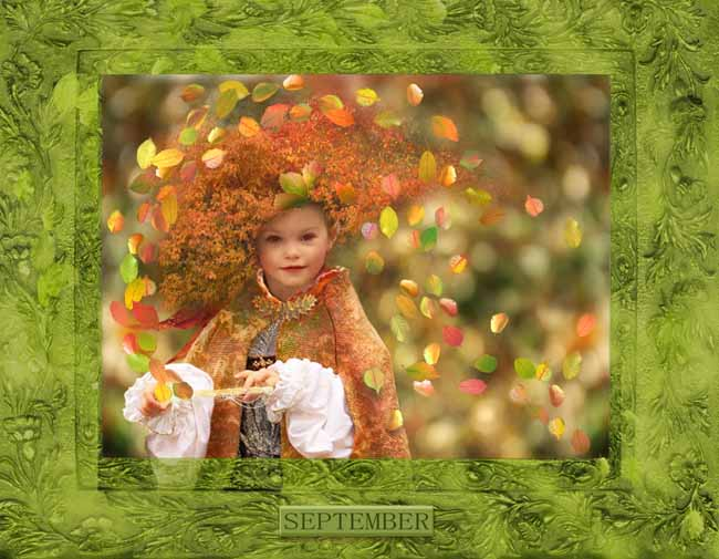 A Peek At Faeries CALENDAR_September