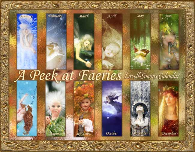 A Peek At Faeries CALENDAR_cover